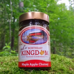 Maple Apple Chutney