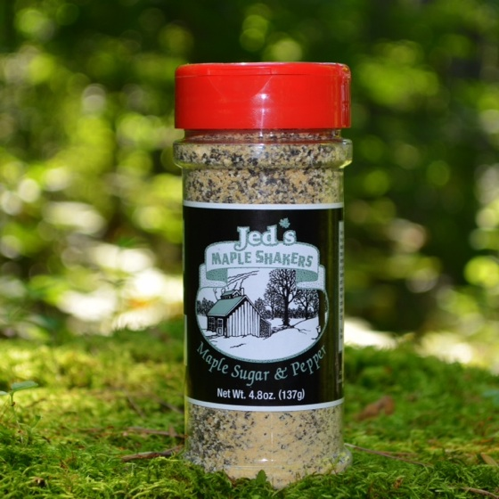 Maple Sugar & Pepper Shaker