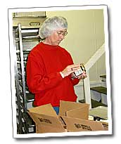 'Aunt Jean' packs another order
