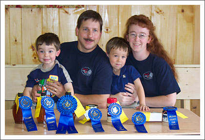 Wheeler Family with Awards